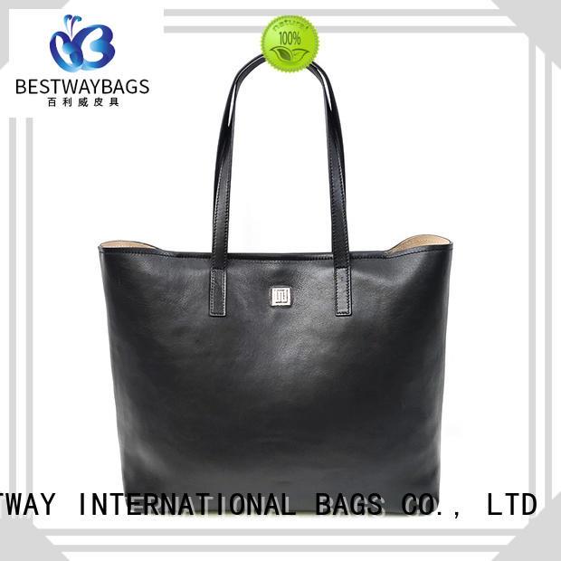 Bestway trendy big leather purse online for school