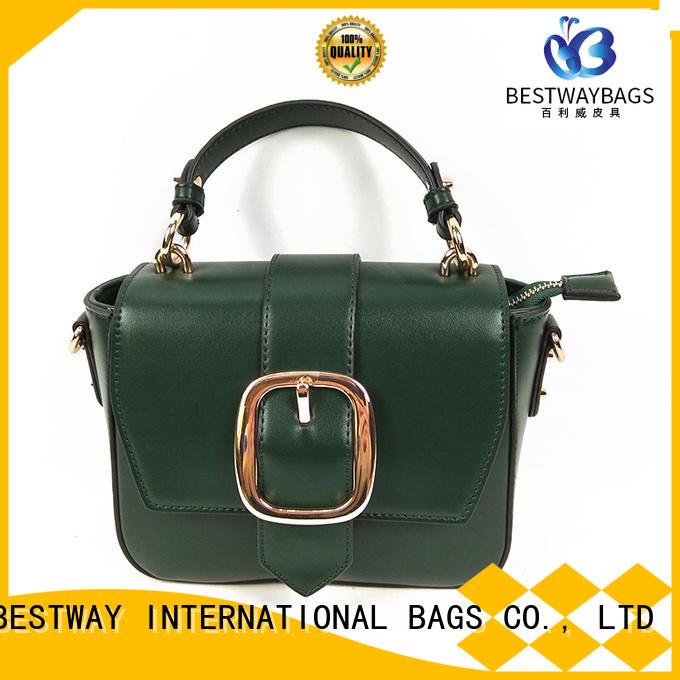 Bestway shopping polyurethane bag supplier for lady
