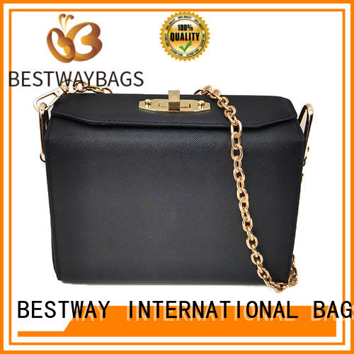 Bestway leisure pu leather bag clutch for girl