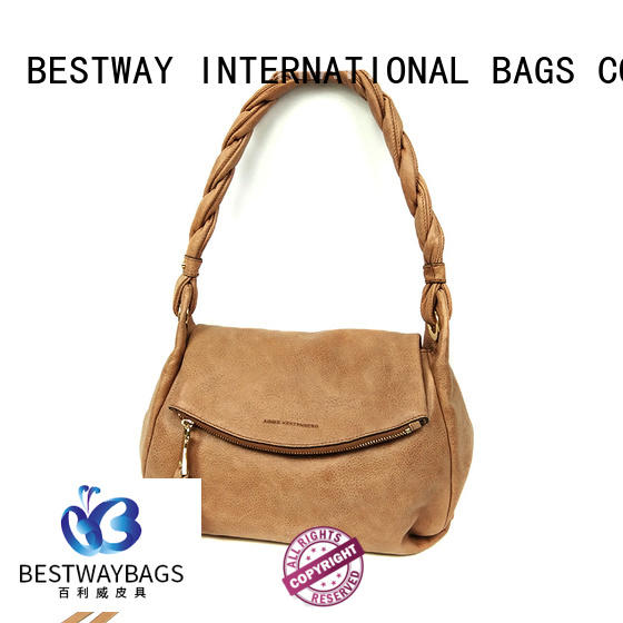 Bestway messenger pu leather bag Chinese for ladies