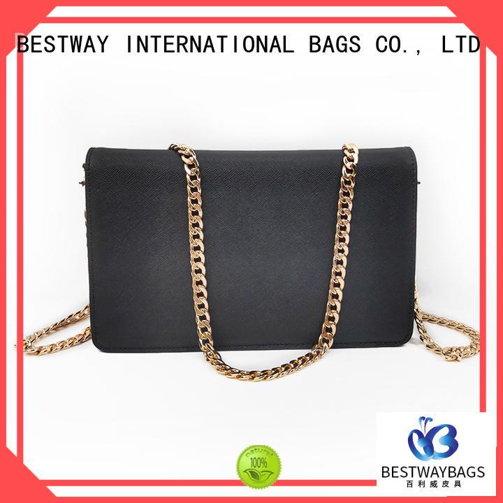 Bestway side leather handbags wildly