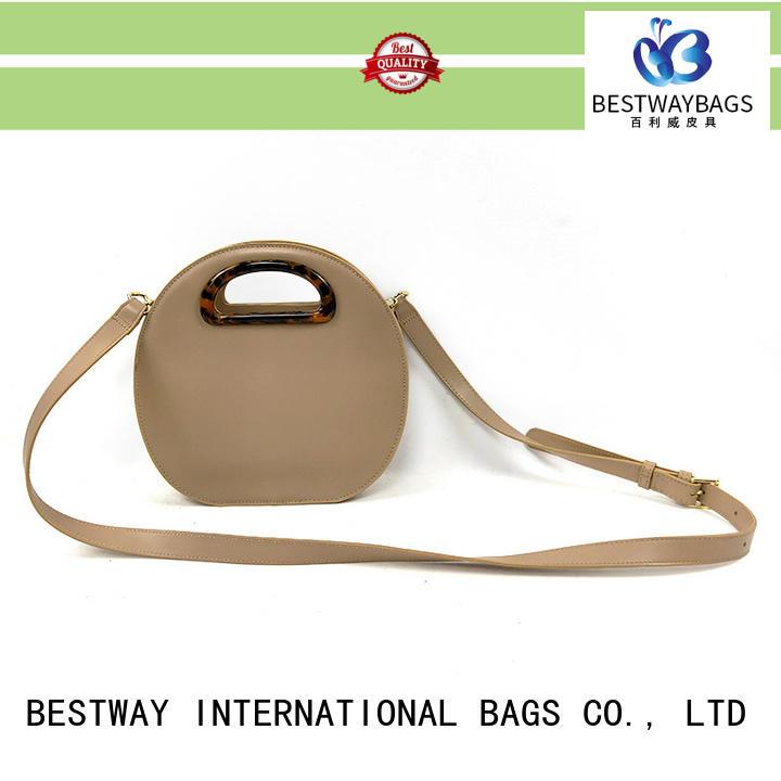 Bestway fashion polyurethane bag online for lady