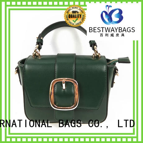 Bestway boutique pu tote bag supplier for ladies