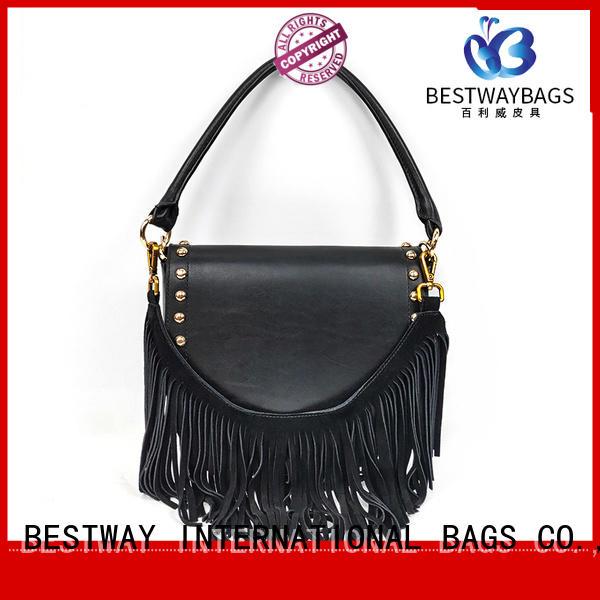 vendor leather handbags cow for date Bestway