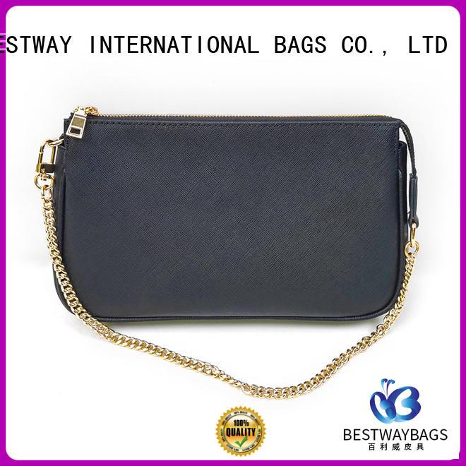 grey leather bag smart for work Bestway