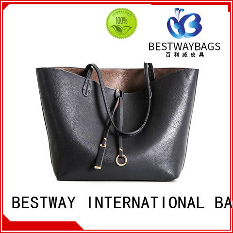 Bestway brand nice leather bags online for school