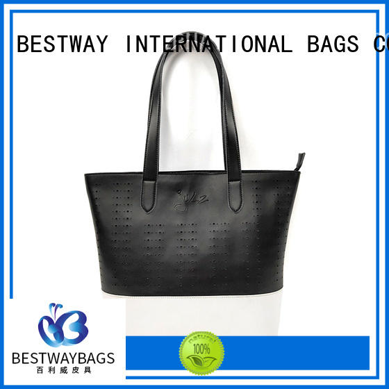 Bestway boutique pu tote strap for ladies