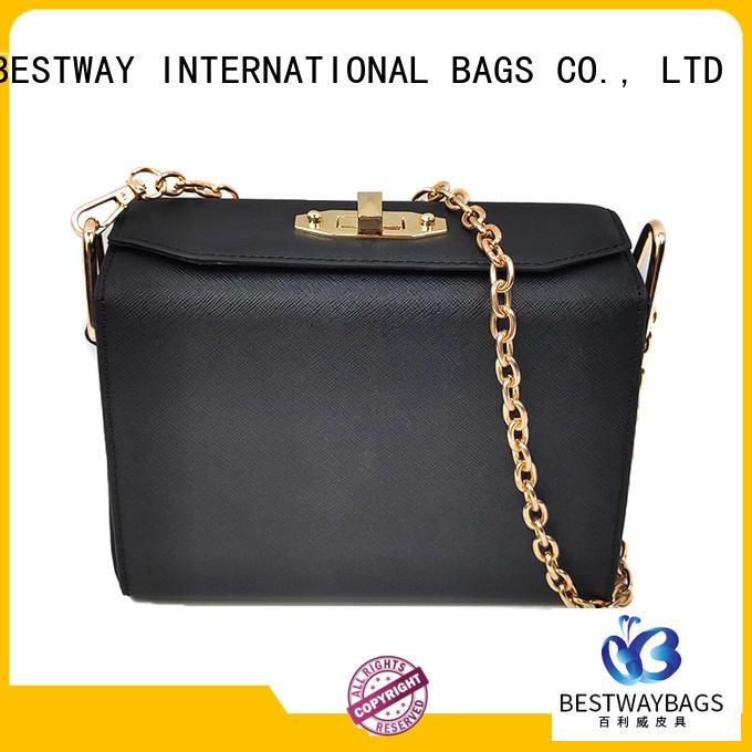 Bestway generous polyurethane vegan leather supplier for lady