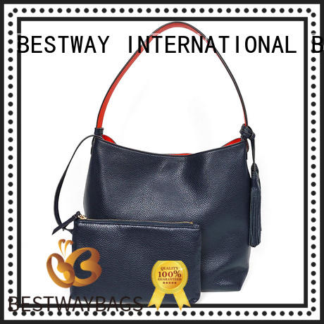 Bestway trendy leather purse bag online for daily life