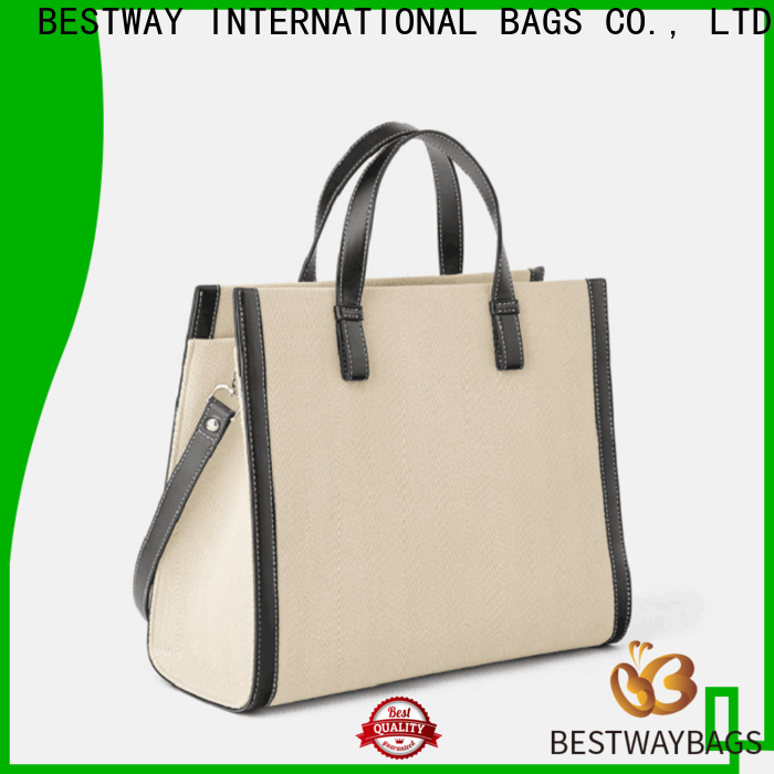 Bestway multi function women's canvas tote bags factory for relax