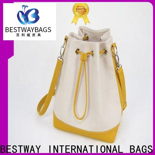 Bestway innovative canvas tote shopper bag factory for relax