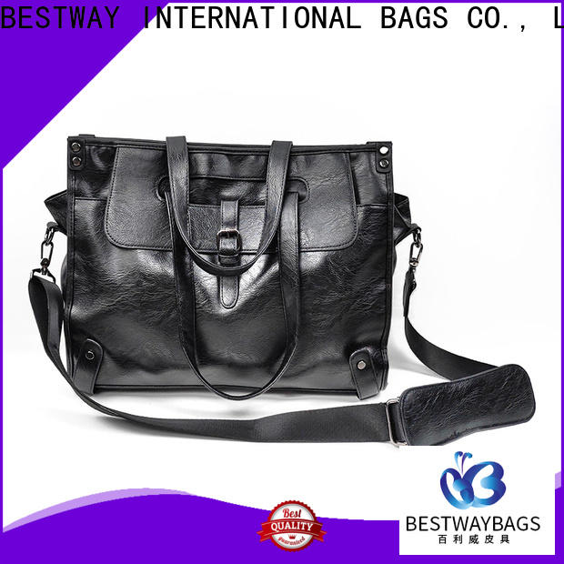 Bestway simple pu duffle bag for sale for girl