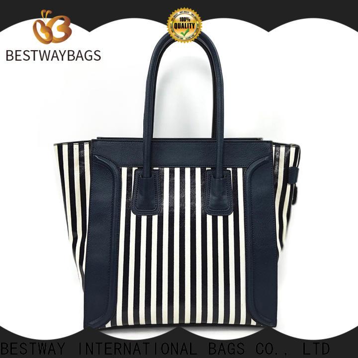Bestway oem personalised canvas bags wholesale for travel