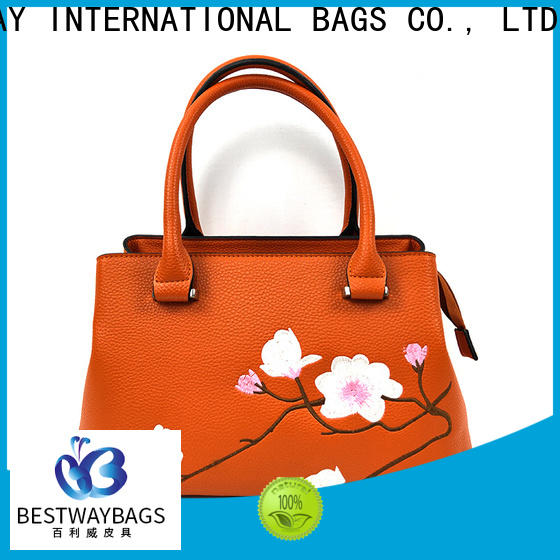 Bestway elegant pu upper leather meaning Chinese for women