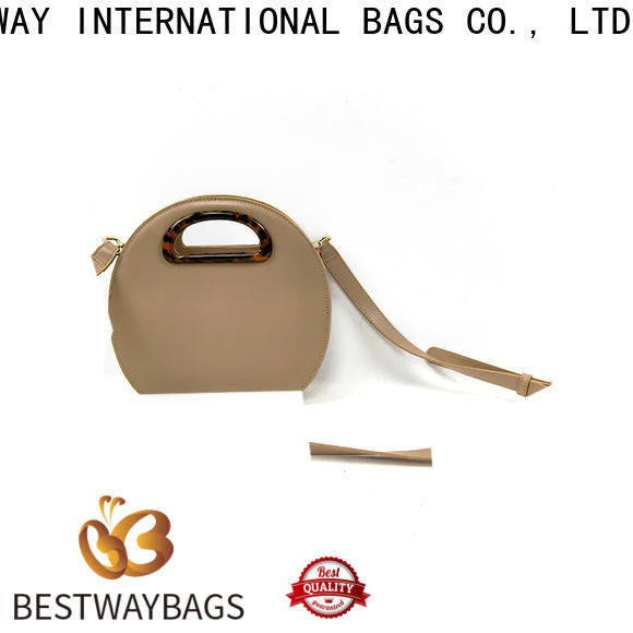 Bestway fashion pu leather supplier for ladies