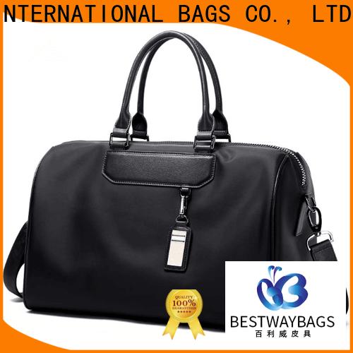 Bestway strength mens nylon bag supplier for bech