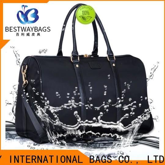 Bestway capacious waterproof nylon bag supplier for sport