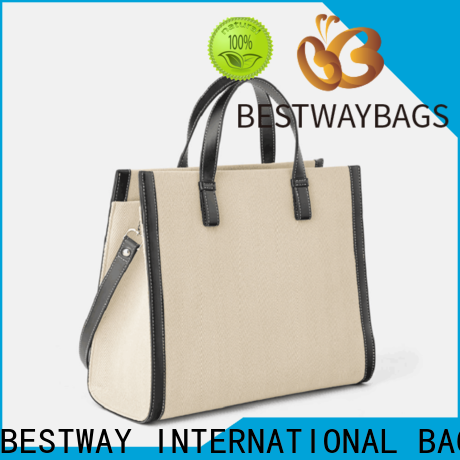 Bestway tote canvas handbags factory for travel