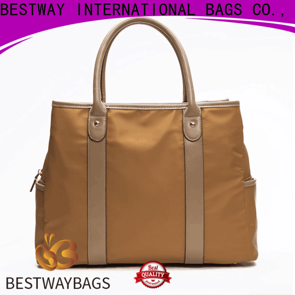 Bestway tote mens nylon bag personalized for bech