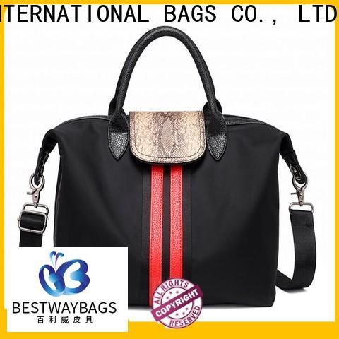Bestway customized nylon hobo handbags wildly for gym