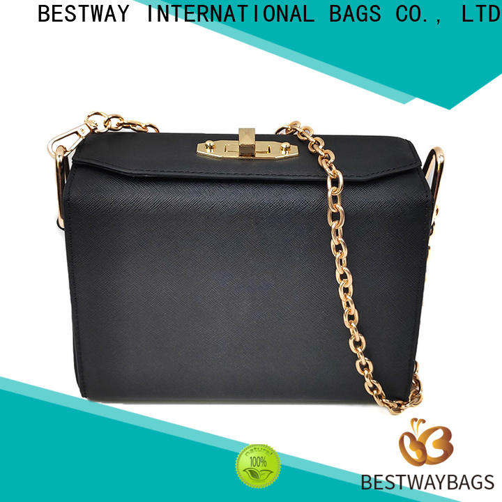 simple pu leather bag inexpensive supplier for women