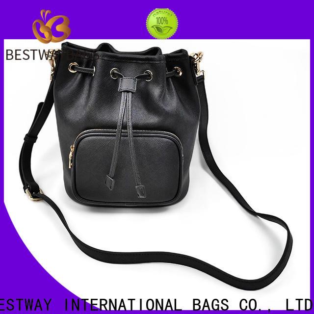 Bestway shoulder quilted leather handbag on sale for work