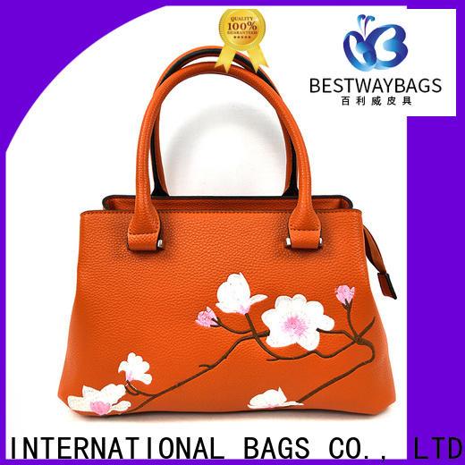 Bestway soft ladies leather handbags online for ladies