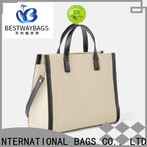 innovative women's canvas tote bags branded personalized for shopping