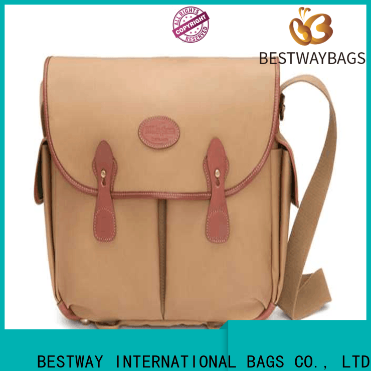 Bestway brands coated canvas tote bags factory for shopping