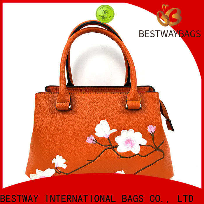 Bestway simple pu leather vs real leather for sale for women