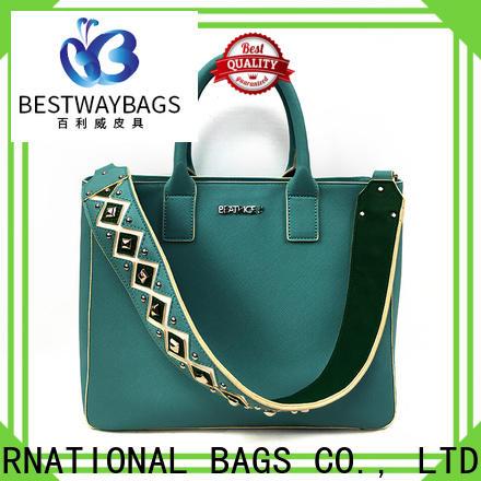 fashion premium polyurethane leather men supplier for ladies