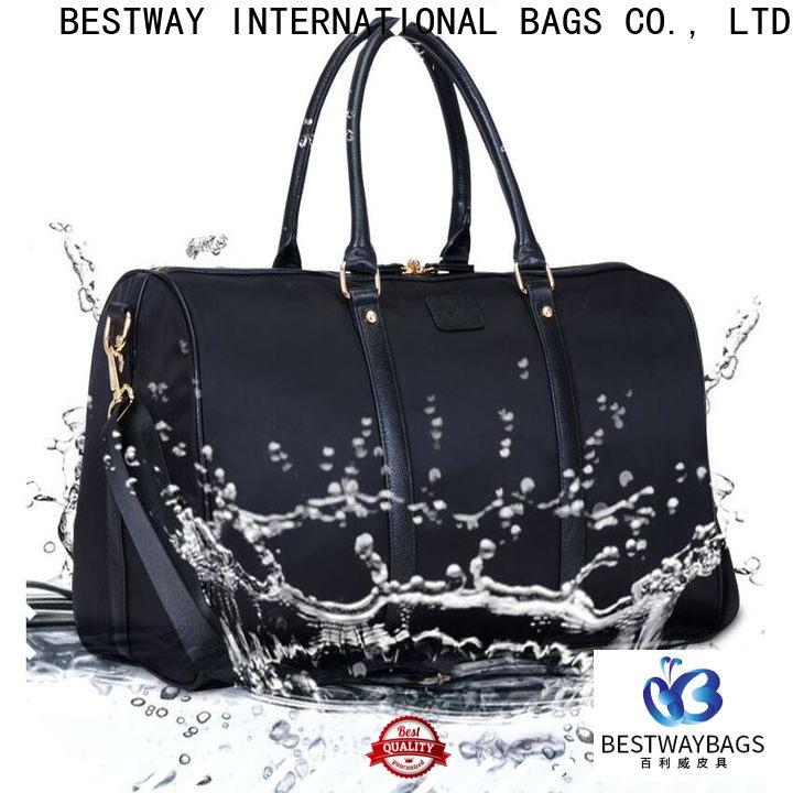 Bestway leather nylon hobo handbags wildly for swimming