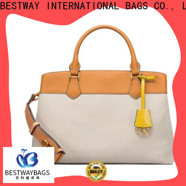 Bestway special designer canvas tote personalized for holiday