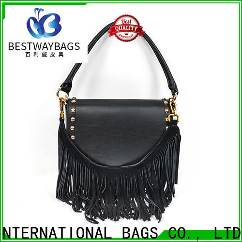 Bestway High-quality yellow leather bag manufacturers for date