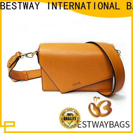 Bestway evening pu leather fabric company for women