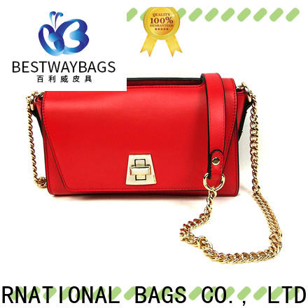 Bestway blue pu bag Supply for lady