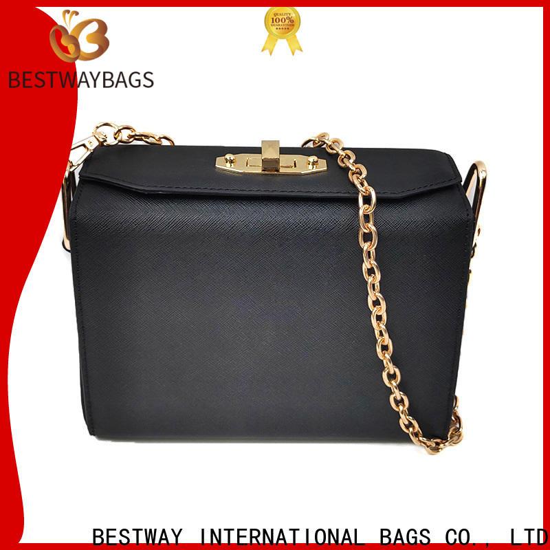 elegant pu bags china shoulder factory for women