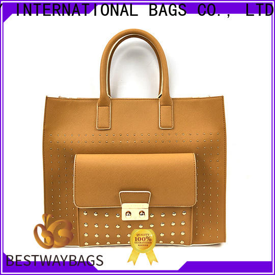 Bestway discount fashion leather bags for business for women