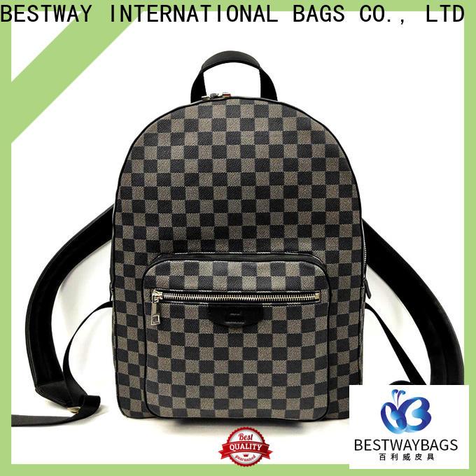 Bestway popular leather satchel Suppliers for school