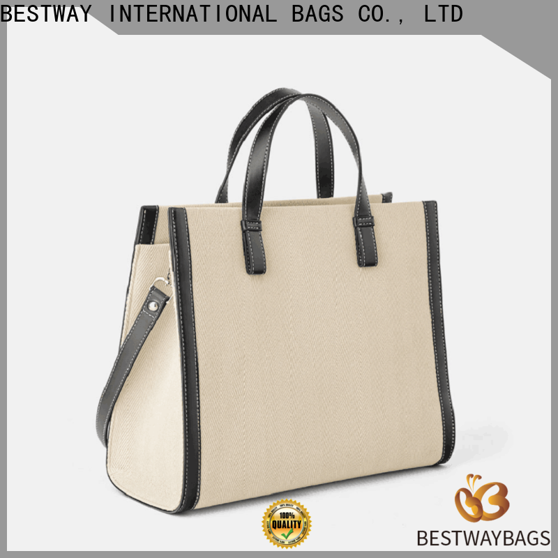 Bestway multi function reusable canvas bags company for vacation