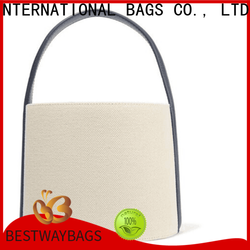 Bestway beautiful black canvas tote company for holiday
