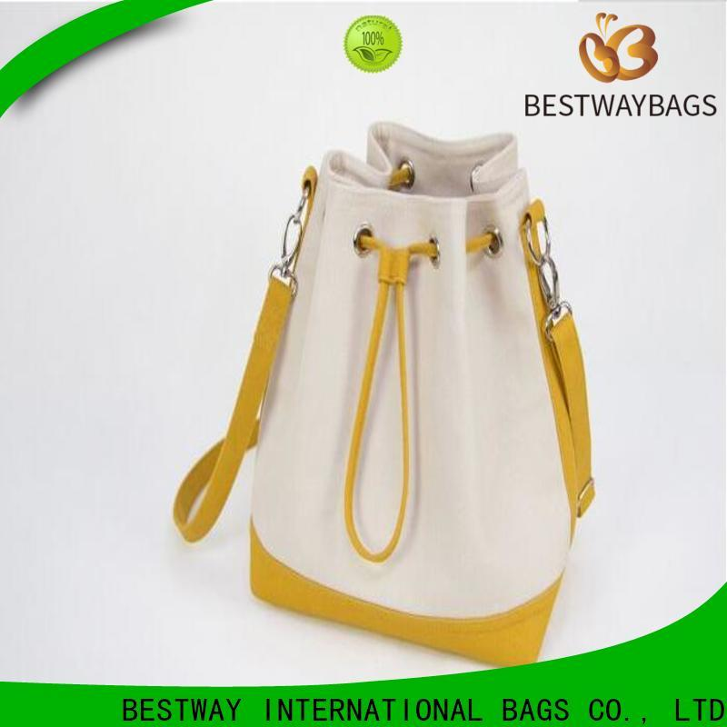 Bestway shopping canvas handbags manufacturers for travel