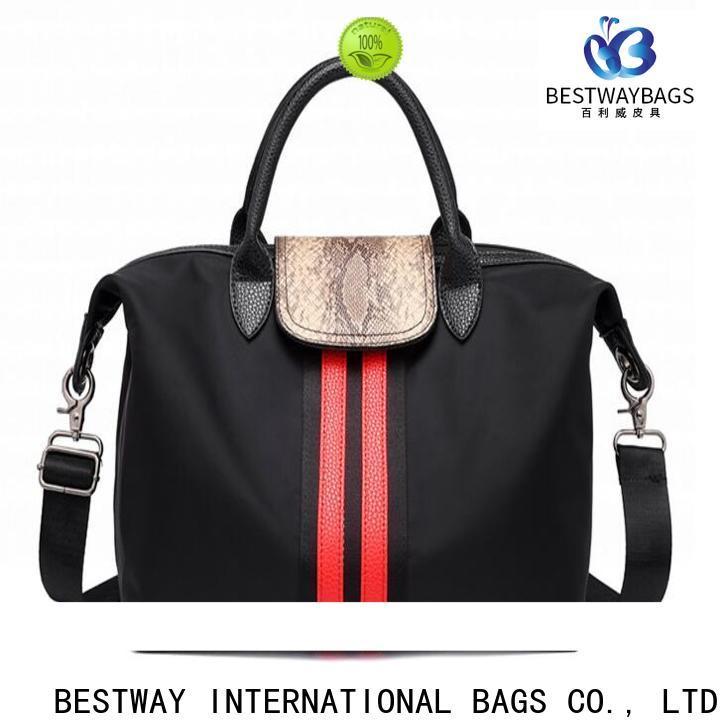 Bestway polyester black nylon bag Supply for gym