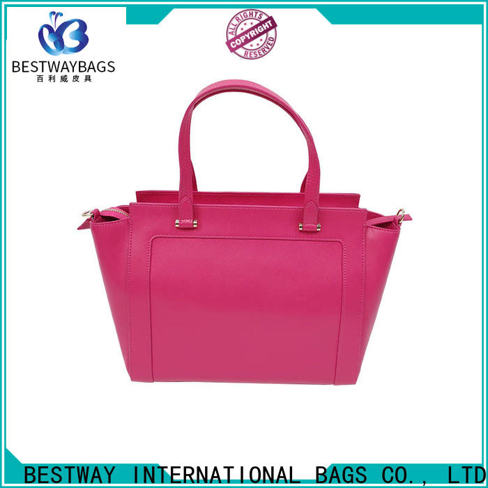 Latest pu leather handbags white manufacturers for women
