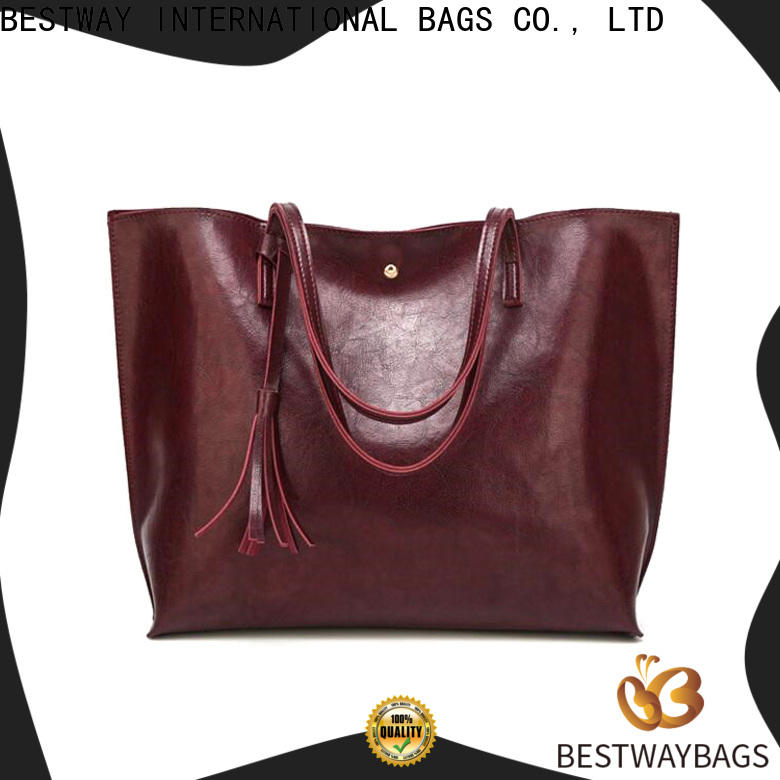 Bestway boutique what is pu leather made of Chinese for ladies