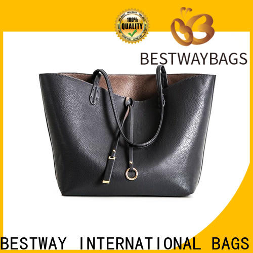 Bestway big all leather purses personalized