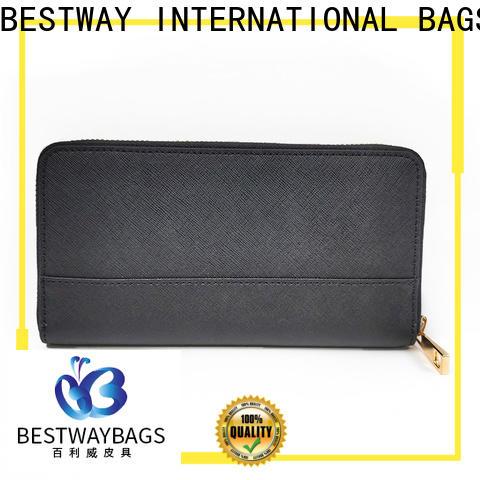 Bestway quality big leather handbag factory
