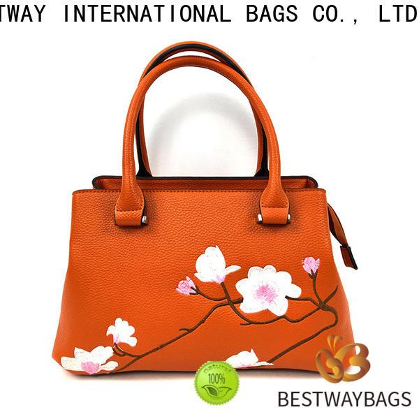 Bestway simple polyurethane luggage supplier for girl