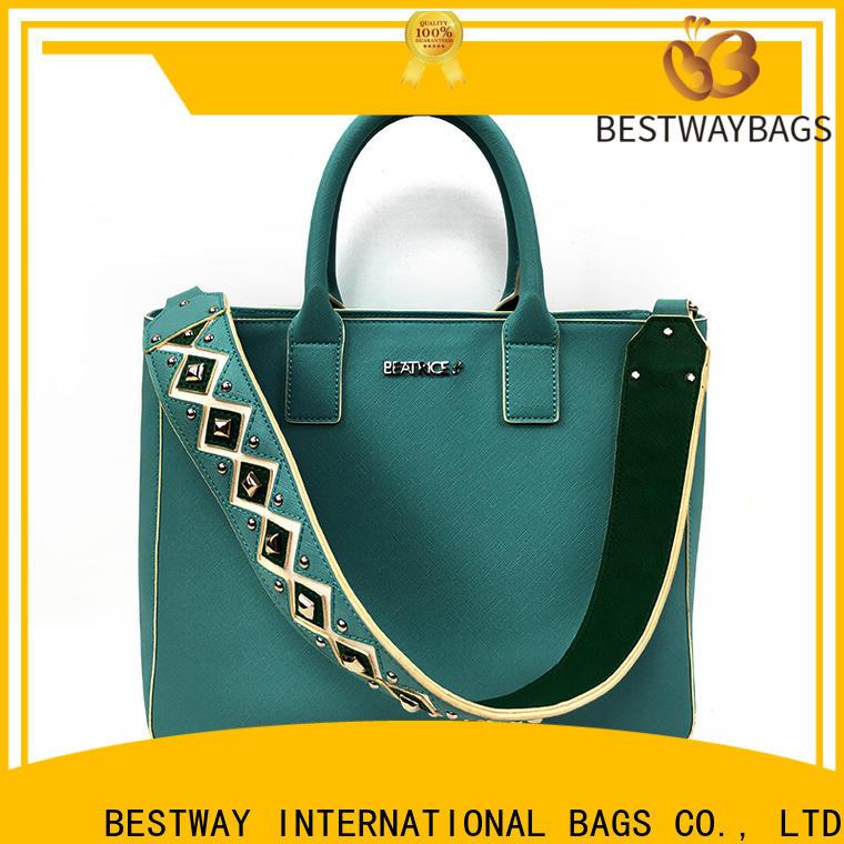 Bestway fashion polyurethane or leather company for girl