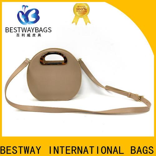 Custom pu sling bag sale Chinese for ladies